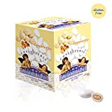 Amaretto Biscuit Wedding Flavoured Sugared Almonds - Gluten Free - 500g (90 Units)