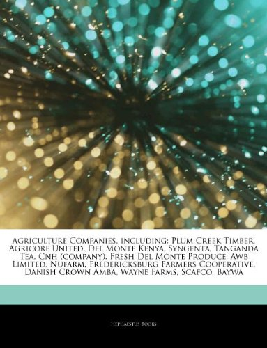 articles-on-agriculture-companies-including-plum-creek-timber-agricore-united-del-monte-kenya-syngen