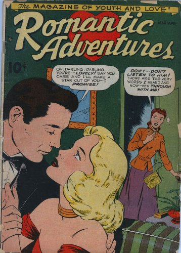 Romantic Adventures Comic - 1 cover