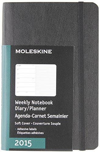 Moleskine Agenda Settimanale 2015 Pocket Cover Morbida Nero 9 x 14 cm PDF