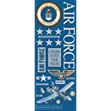 K&Company Air Force Foil Embossed Stickers