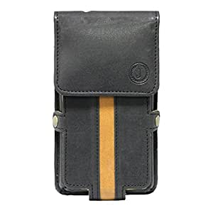 Jo Jo A6 Nillofer Series Leather Pouch Holster Case For LeTV Le 1 Pro 7.5/10 Black Tan