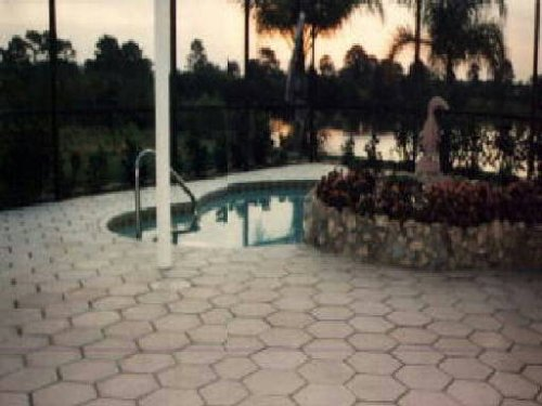 Make Your Own 12x12 Hexagon Paver Tile With Our Mold #1222