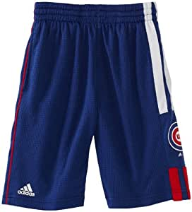 MLB Youth Chicago Cubs Pre-Game Short (Western Blue, Small)