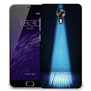 Snoogg blue interior spotlight backdrop Designer Protective Back Case Cover For Meizu M2
