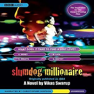 Slumdog Millionaire Audiobook