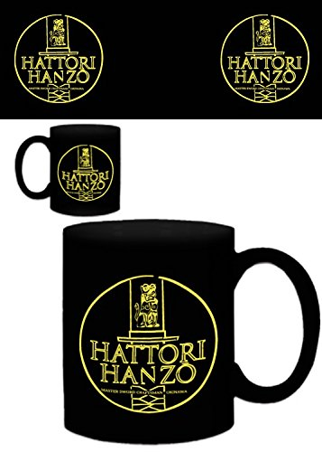 Set: Logos, Hattori Hanzo Master Sword Craftsman Okinawa Photo Coffee Mug (4x3 inches) And 1x 1art1 Surprise Sticker (Master Hanzo compare prices)