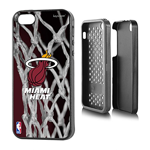 Miami Heat iPhone 5 & iPhone 5s Rugged Case officially licensed by the NBA for the Apple iPhone 5/5s by keyscaper® Durable Two Layer Protection Shock Absorbing (Miami Heat Iphone 5s Case compare prices)
