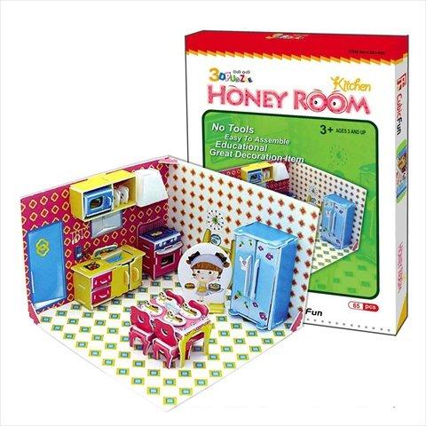 CubicFun C05102H Honey Room Series Kitchen Puzzle