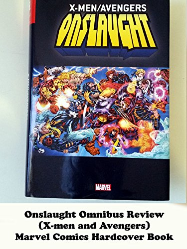 ONSLAUGHT Omnibus Review (X-men and Avengers) Marvel Comics hardcover book