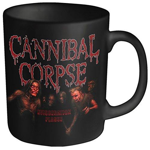 Cannibal Corpse eviscerazione testa in plastica, tazza, colore: nero
