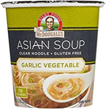 Dr McDougall39s Garlic Vegetable Clear Noodle Asian Soup - 11 oz - 6 Pack