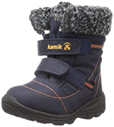Kamik Footwear Rudolph Insulated Boot (Toddler),Navy,5 M US Toddler