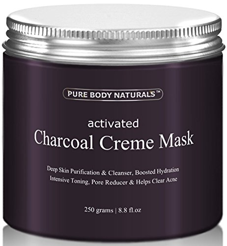 Organic Activated Charcoal Face Mask: Activated Charcoal Face Mask Charcoal Facial Mask