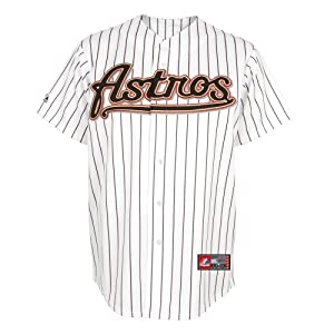 MLB Mens Houston Astros Home Replica Baseball Jersey by Majestic