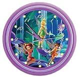 KNG Disney's Fairies LED Musical Wall Clock