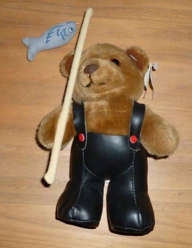 Dakin Gone Fishing Teddy Bear Plush Animal