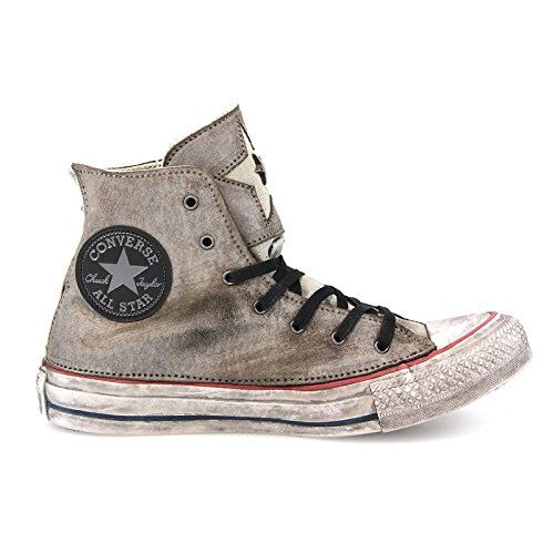 Converse All Star 1c15fa06 Hi Leather Ltd Premium Iron Star sneaker pelle donna (37)