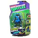 Leonardo Throw N Battle Teenage Mutant Ninja Turtles TMNT Action Figure