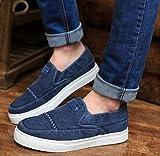 (フルールドリス)Fluer de lis スリッポン ウォッシュ加工 ブルー シューズ 靴 くつ カジュアル スニーカー デッキシューズ カジュアル アパレル メンズ ファッション 紳士靴 服 262-t1-1380