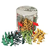 Occasion, Army Toys Bucket of 200 Assorted Military Army Soldier d'occasion  Livré partout en France
