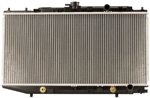Shepherd Auto Parts 1 Row w/o EOC w/ TOC OEM Style Complete Replacement Radiator (91 Honda Crx Radiator compare prices)