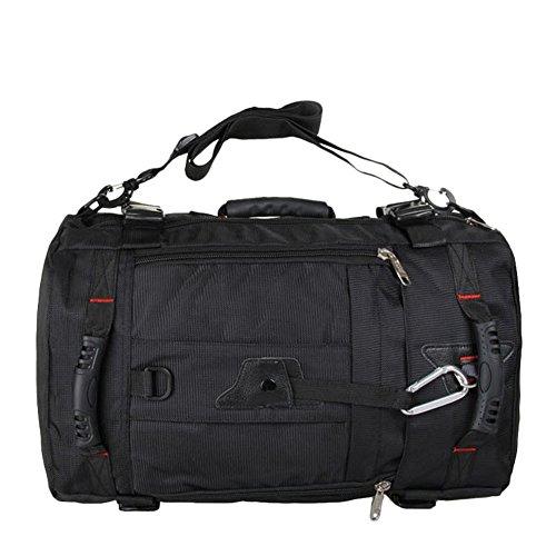 3 en 1 bagage cabine sac dos de voyage bagage mains sac bandouill re ordinateur. Black Bedroom Furniture Sets. Home Design Ideas