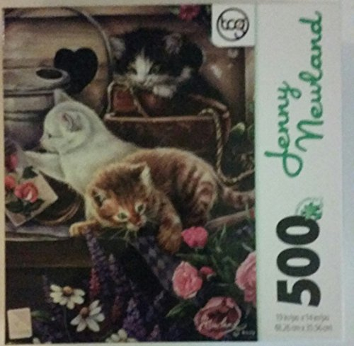 Jenny Newland 500 Piece Sure-lox Puzzle Playful Kittens
