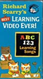 Richard Scarry's Best Learning Video Ever - ABC-123-Learning Songs