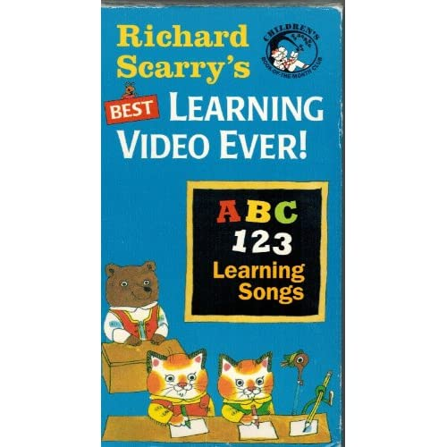 Amazon.com: Richard Scarry's Best Learning Video Ever - ABC-123
