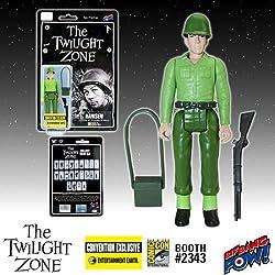 Twilight Zone Hansen 3 3/4-Inch Figure In Color - Con. Excl.