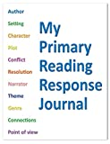"""BookFactory® Elementary School My Primary Reading Response Journal / Classroom Primary Reading Response Book (K-2nd Grade) (Top Half Blank, Bottom Half Manuscript Ruled Format - 8.5"""" x 11"""" - 32 Pages) Saddle Stitched (JOU-032-7CSS-MPRRJ-[10-Pack]-PJX)"""