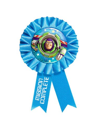 Toy Story Game Time Award Ribbon (Each)