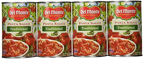 Del Monte Traditional Spaghetti Sauce, 24 Ounce (Pack of 12) (Spaghetti 24 Oz compare prices)