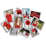 Umbra Silver 'Mosh' Wall Nickel Multi Photo Frame
