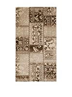 Homemania Alfombra Galata Taupe/Multicolor 80 x 150 cm