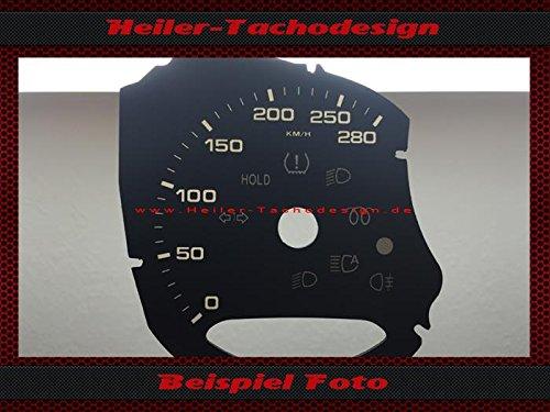 Tachoscheibe Porsche Macan S 970 2014 Mph zu Kmh