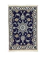 Eden Carpets Alfombra Nain K Azul 87 x 55 cm