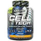 MuscleTech Cell Tech, Hardgainer Creatine Formula, Orange, 5.95 lbs (2.70kg)