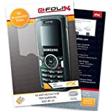 AtFoliX FX-Antireflex screen-protector for Samsung SGH-M110 (3 pack) - Anti-reflective screen protection!