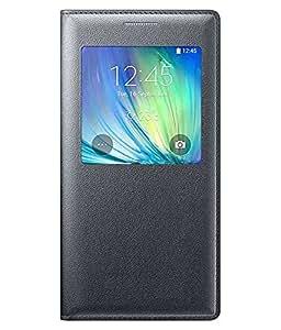 Samsung Galaxy J2 Pro 2016 Flip Cover by Fashion On Board- Black
