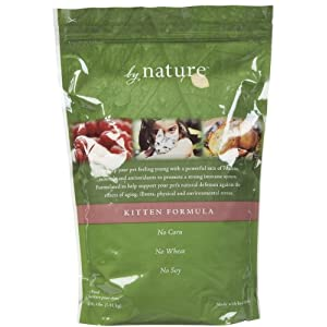 By Nature Natural Kitten Food - 4 lb