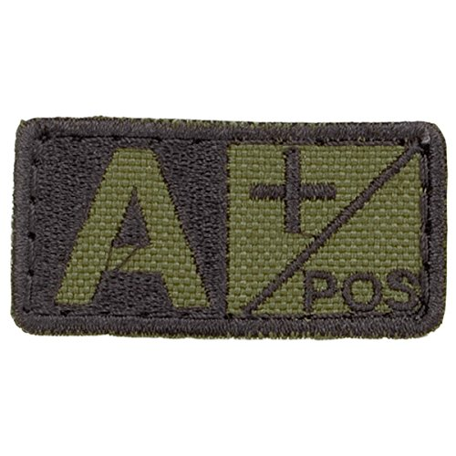 Condor Blood Patch Olive Drab / Black A+