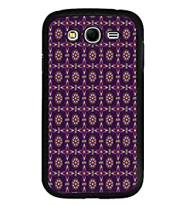 iFasho Animated Pattern design colorful flower in royal style Back Case Cover for Samsung Galaxy Grand