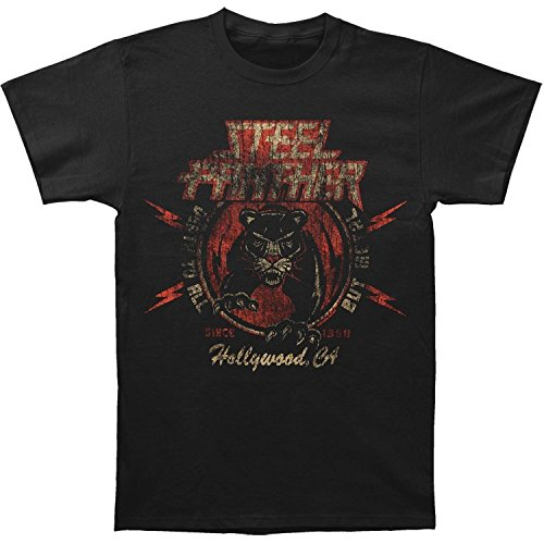 Habo-line Steel Panther - Mens Death To All But Metal T-shirt Small Black?Large?
