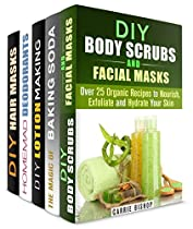 THE WONDERS OF HOMEMADE BEAUTY PRODUCTS BOX SET (5 IN 1): BODY SCRUBS, FACIAL AND HAIR MASKS, LOTION MAKING AND DEODORANTS FOR GIFTING AND PERSONAL USE (DIY BEAUTY PRODUCTS)