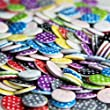 Pack of 50 pcs Random MIxed Assorted Buttons