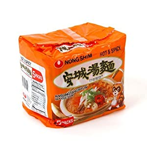 Nong Shim Hot And Spicy Noodle Soupansung Tangmyun