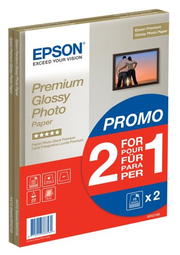 Epson Premium Glossy Photo Paper/A4 2 x 15sh (1 Plus 1)