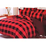 WRAP 100% PREMIUM QUALITY REVERSIBLE DOUBLE BED 4PC COMFORTER SET SMC-08